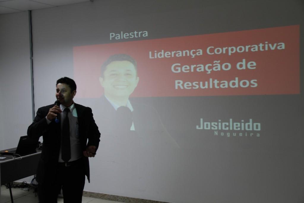 Palestrante Josicleido Nogueira