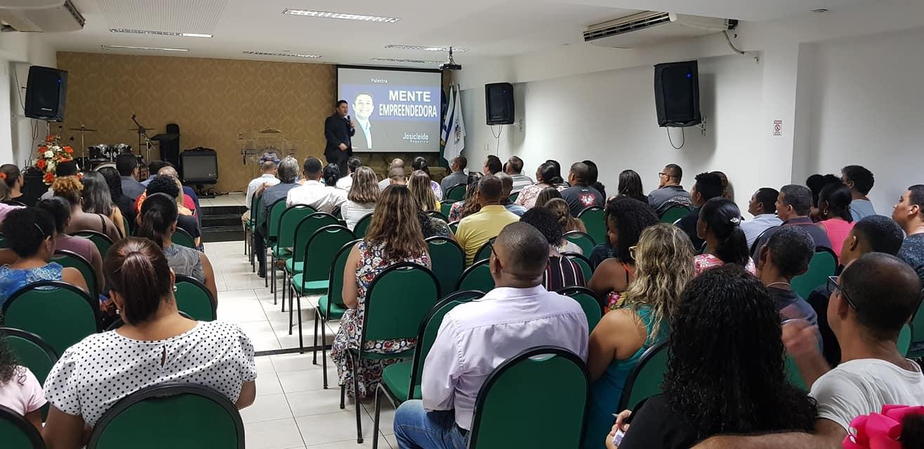 Palestra com Josicleido Nogueira