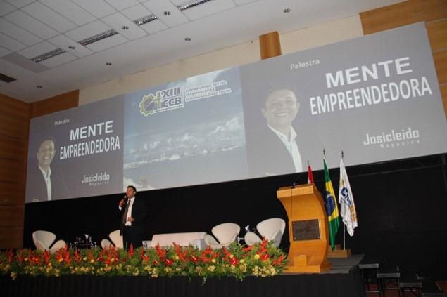Plaestrante Josicleido Nogueira ministra grande evento em São Paulo