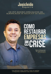 Capa - Livro Como Restaurar Empresas em Crise - Josicleido Nogueira